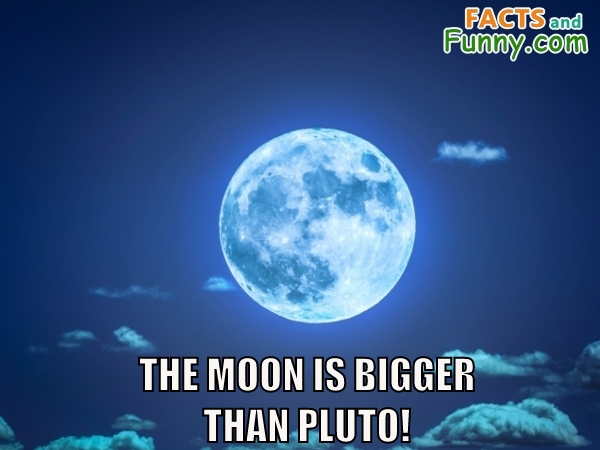Photo about moon and pluto