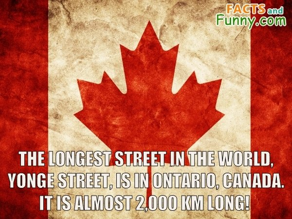 Photo about canada and street