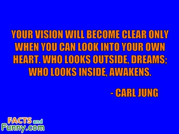 Photo about jung and vision