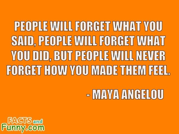 Photo about feelings and angelou